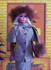 Vintage Barbie Repro #1647 Gold N Glamour Outfit: Reproduction Mint And Complete