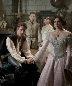 Awesome Regina Robin Snow Charming (Lana Sean Ginny Josh) #Once S5A #Camelot