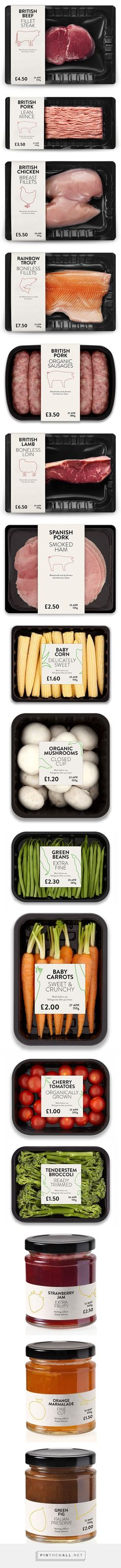 Meat, Veggies & Jams on Packaging Design Served... - a grouped images picture - Pin Them All