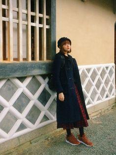 村田倫子|mysticのダッフルコートを使ったコーディネート - WEAR