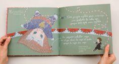 Calligraphy for the illustrated children's book ¡Shhh! Silencio por favor