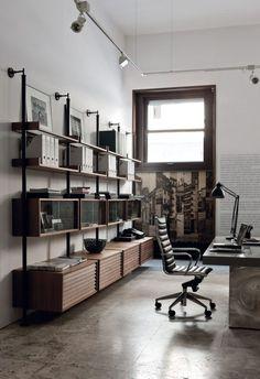 Brilliant Industrial Office Design Ideas 31