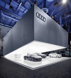 Open for the future \ Audi Trade Fair Stand CES 2011
