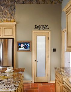 Pantry with Ornate Scroll Kitchen Vinyl Wall Words Decal Sticker Graphic Made from 10 year high quality vinyl which leaves no residue upon removal. Some decals may come in multiple pieces due to the s