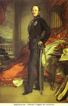 Franz Xaver Winterhalter. Prince Albert. Olga's Gallery.