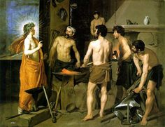 The Forge of Vulcan by Diego Velasquez