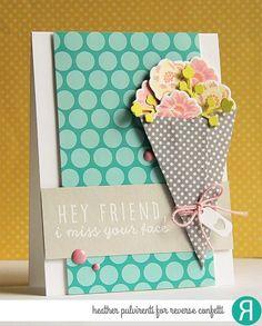 Reverse Confetti Confetti Cuts - Flower Wrap