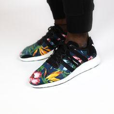 adidas Y-3 Yohji Boost Yohji Yamamoto Plumeria (schwarz/multi) - The Good Will Out | Sneakershop Köln