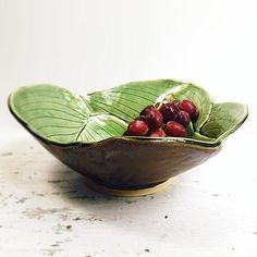 Hosta Leaf bowl 5 C
