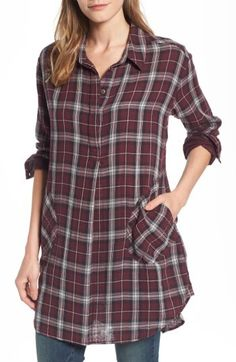 It's time for cozy flannel and plaid! Available in several colors! #aff