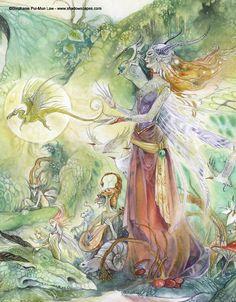 Stephanie Pui Mun-Law Dragons | Stephanie Pui-Mun Law - Shadowscapes