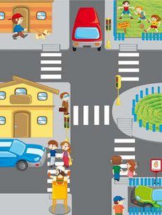 Креслення безпеки дорожнього руху | дитячих малюнків
