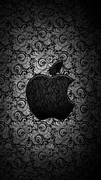Pattern of Times iPhone 7 Wallpapers is a black and white iPhone wallpaper in black patterns