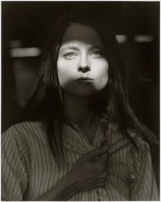 """The best reason to make a film is that you feel passionately about it"" -Jodie Foster (ph.: by Herb Ritts)"