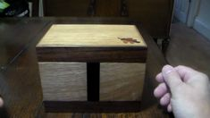 Tricky Trinket Box 1 Trinket Boxes, Wood Crafts, Restoration, Old Things, Refurbishment, Woodworking Crafts, Wood Creations