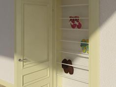 Sko opbevaring Gør Det Selv Shoe Storage, Tall Cabinet Storage, Decor Crafts, Diy And Crafts, Home Decor, Boot Rack, Small Places, Modern Kitchen Design, Home Projects