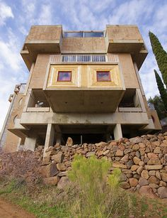 Arcosanti. North Phoenix .Paolo Soleri. Arcosanti is an experimental town began in 1970 and is still being developed today in 2015