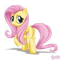 my little pony,Мой маленький пони,mlp art,mane 6,Fluttershy,Флаттершай