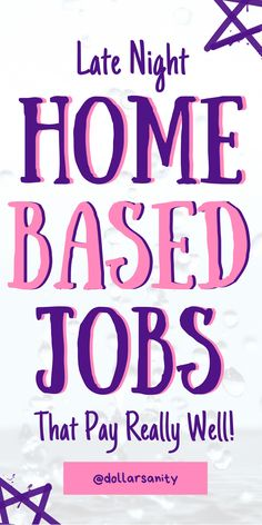 Home Based Jobs, Work From Home Jobs, Make Money From Home, Way To Make Money, Legit Online Jobs, Easy Work, Flexible Working, Making Extra Cash, Earn More Money