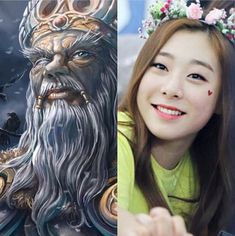 NorseZodiac&KPOP // Odin // Yeonjung of CosmicGirls WJSN