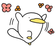 오리너구리 오구 : moonlab Funny Duck, Cute Cartoon Characters, Pretty Pictures, Cute Art, Illustrators, Doodles, Kawaii, Stickers, Random