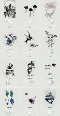 Ingyen letölthető és nyomtatható naptárak 2016