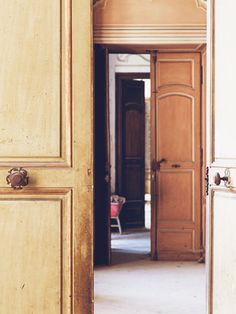 Open Doors - Chateau de Gudanes, South of France photographed by {this is glamorous} flickr