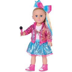 Get this My Life As JoJo Siwa Doll for only $14.97 (reg. $35) at Walmart. You save 57% off the retail price for this highly rated doll. Add extra for shipping or receive free shipping over $35. Deal may expire soon. Jojo Siwa, Jean Michel Basquiat, Cabbage Patch Kids, White Tee Shirts, White Tees, Mattel Barbie, Jojo Hair Bows, Newborn Baby Dolls, Doll Eyes