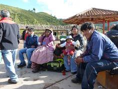Aguas termales de San Pedro. Perú