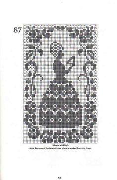 Gallery.ru / Фото #19 - Crochet Filet pour Point de Croix 1 - Mongia