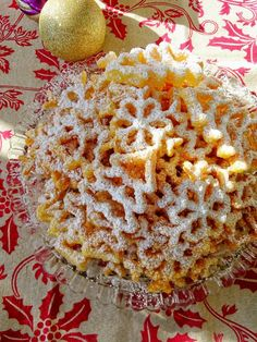 Do you remember rosette cookies? When I was a kid we would have these cookies every year around the holidays and then when I got married I had my. Italian Christmas Desserts, Christmas Sweets, Christmas Cooking, Christmas Goodies, Swedish Christmas, Christmas Drinks, Holiday Cookies, Holiday Treats, Holiday Recipes