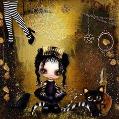 So Cute Goth by Kitty Scrap