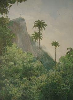 Painting by Princess Maria Gabriella Orleans e Bragança / Rio de Janeiro / Brazil