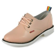 Faux Leather Lace-Up Shoes from #YesStyle <3 yeswalker YesStyle.com