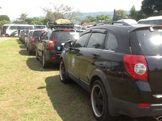 Captiva Chevy Club at Ambarawa Chevrolet Captiva, Offroad, Chevy, Club, Colombia, Autos, Off Road