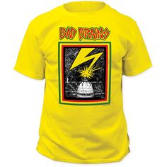 cb08092a1236 BAD BRAINS - CAPITOL tee from IMPACT MERCH! Printed on yellow 18/1 adult