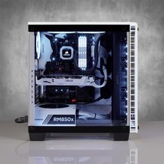 Corsair Crystal 460x Rgb Pc Case White Best Deal South Africa Custom Pc Gaming Computer Setup Pc Cases