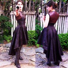 her_kaleidoscope_eyesI feel like a... Bounty huntress! #steampunk #fashion #punk…
