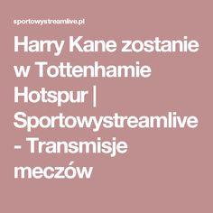 Harry Kane zostanie w Tottenhamie Hotspur | Sportowystreamlive - Transmisje meczów