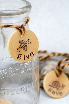 I'd like to make something like this but more decorative, I like the save, spend and give tags.