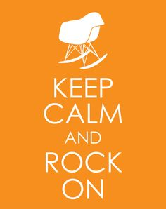 eames rocking chair print