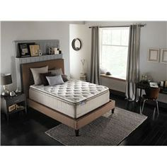 Simmons BeautySleep Adore Queen Euro Top Mattress   Miller Brothers  Furniture   Mattress West Central PA