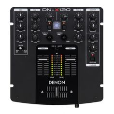 For exceptional sound in a tight package, the Denon DJ DN-X120 is our entry level mixer that maintains Denons high standards and provides our users with the smallest professional-quality DJ mixer on the market. Ideally matched to, and can be packaged with our DN-S1200 CD/ Media Players.