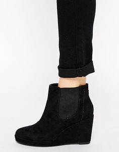 Enlarge River Island Russet Chelsea Wedge Ankle Boots