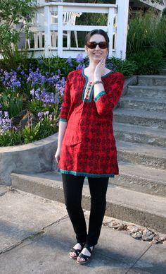 Librarian for Life & Style:  Tunic delight