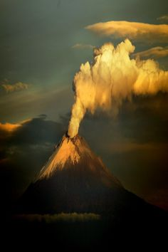 Anybody know which volcano this is please?