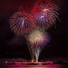 Fireworks over South Lake Tahoe. Come out on the Fourth of July to see fireworks over one of the most beautiful lakes in the world! http://visit-eldorado.com/