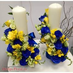 Picture Frame Crafts, Picture Frames, Pillar Candles, Projects To Try, Wedding, Design, Flower Arrangements, Giant Paper Flowers, Floral Arrangements