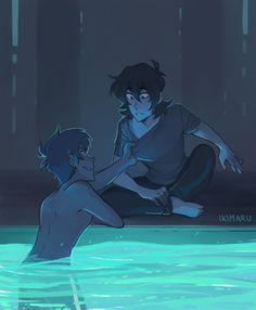 lights over the city, ikimaru: kiss kiss fall into the pool (this was...