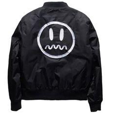 Onyx Hearts STFU Bomber Jacket
